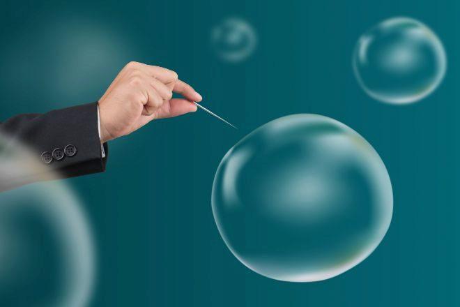 Recreación de burbujas