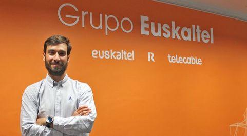 Ignacio Vilaplana es 'lead data scientist' de Euskaltel.