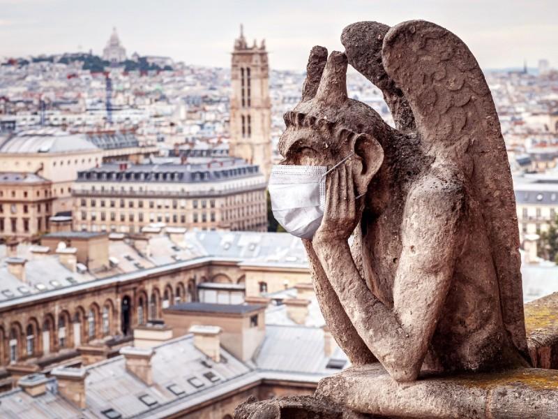 París casi sin turistas por el Covid, que frena la publicidad. VIACHESLAV LOPATIN