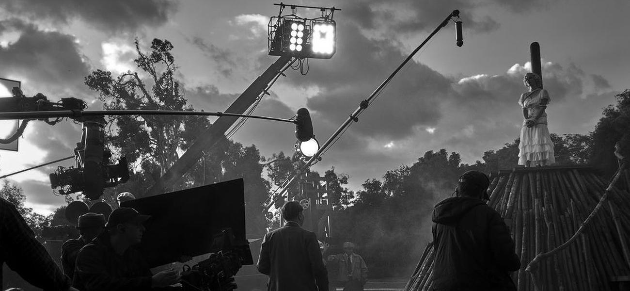 También rodada en blanco y negro está Mank, biopic sobre Herman...