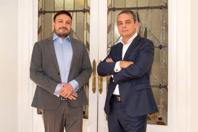 Fran Ruz y Luis Fernández-Novoa, socios de Hoyng RokhMonegier.