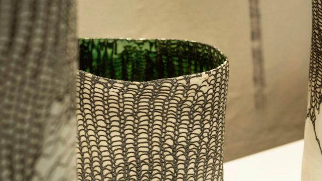 Una de las piezas expuestas el año pasado por SACo (Sociedad Artesanía Contemporánea).