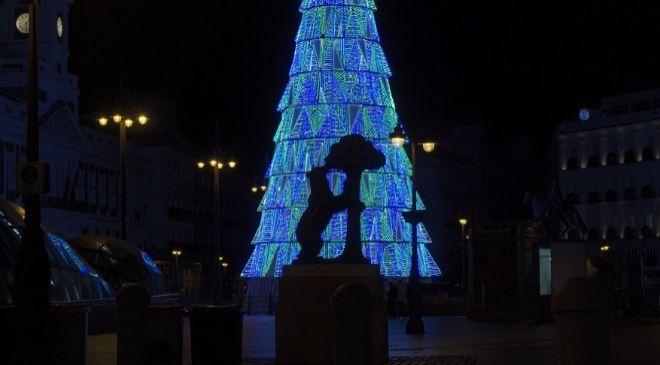 Decoración navideña de Ximenez Group en Madrid las navidades...