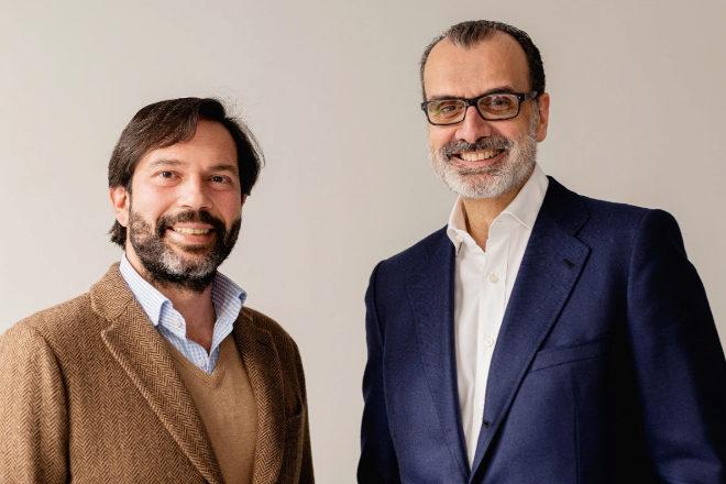 Juan Filiberto Martínez, ahora socio de Athos Capital, y Fernando Castiñeiras, CEO de la nueva compañía.