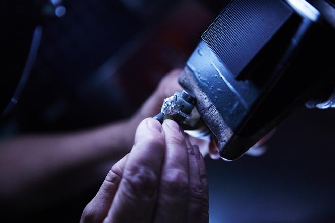 Recarlo utiliza diamantes procedentes de Siberia por su pureza.