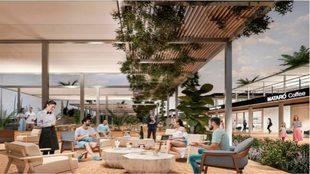 Imagen conceptual del Puerto de Mataró tras su proyecto de...