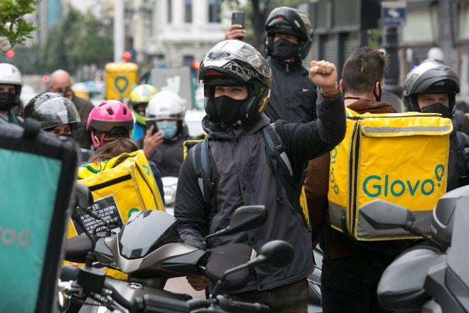 El Gobierno aprueba hoy la conversiónde los 'riders' en nuevos asalariados