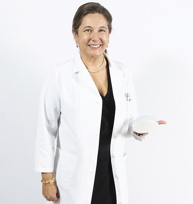 La doctora Isabel de Benito.