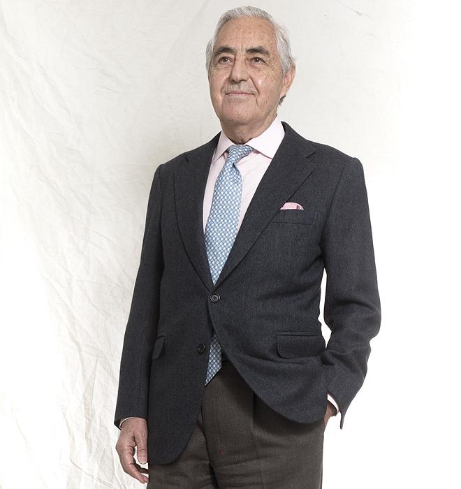 El doctor Antonio de la Fuente, maestro de cirujanos.