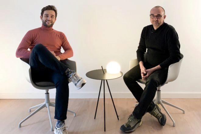 Jorge Soriano (izqda.) y Jaume Sola (dcha.), fundadores de Criptan.