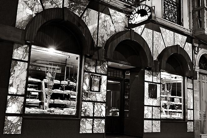 Fachada de la tienda, en la calle Consolación de Torrelavega.