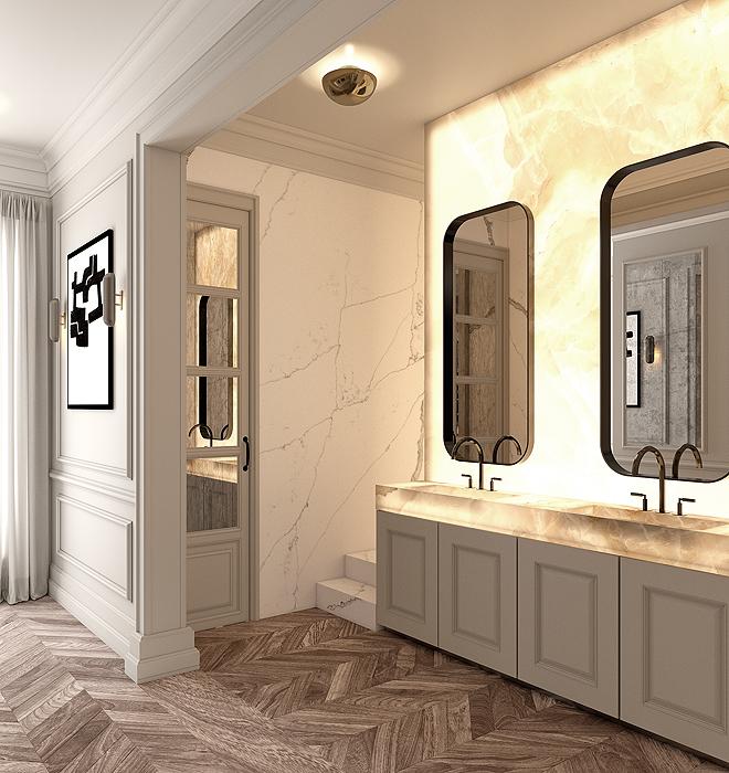 Proyecto de cuarto de baño.