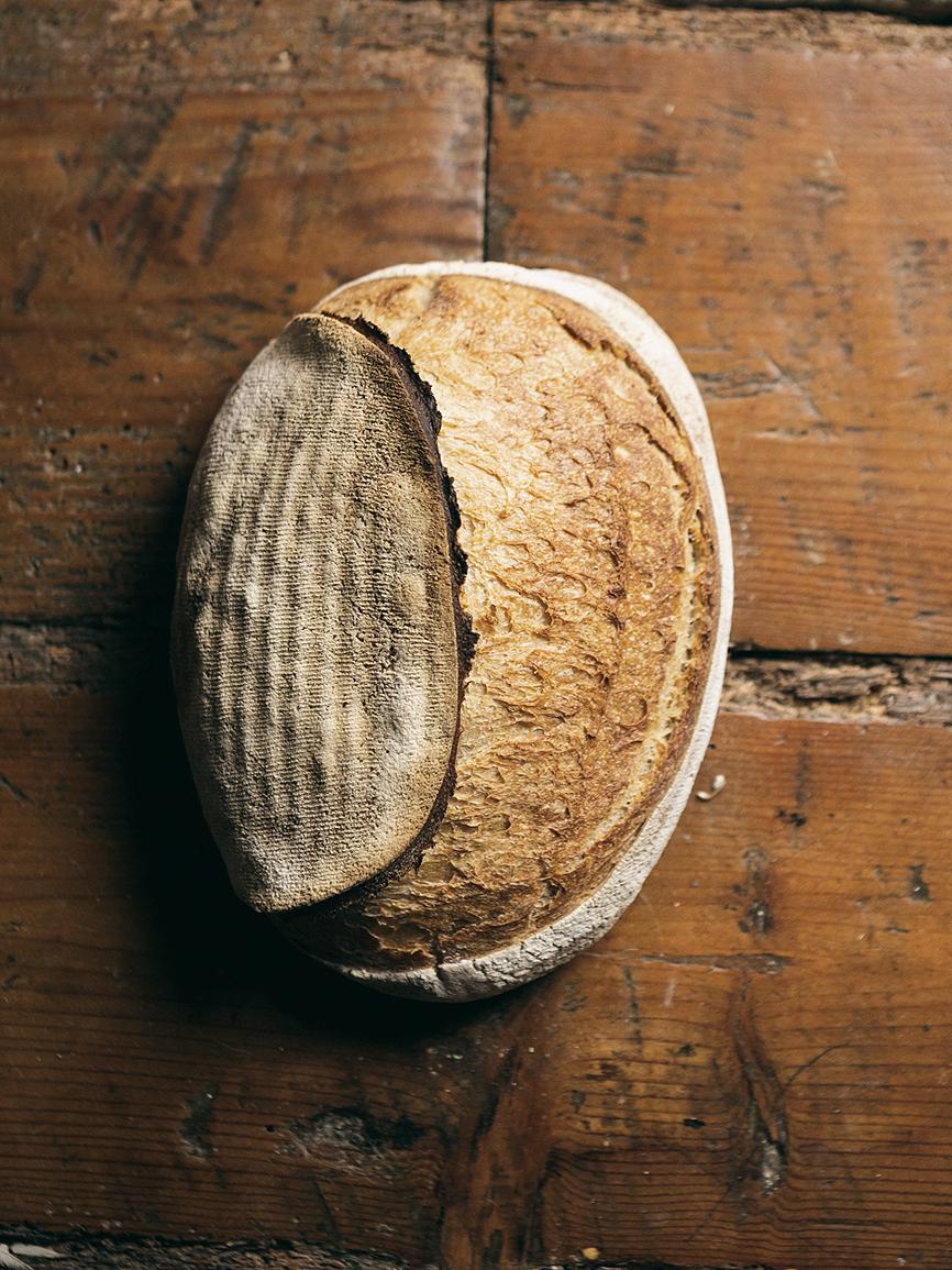 Ingredientes: Harina ecológica blanca, harina ecológica molida a la...