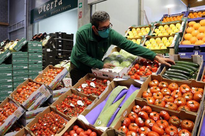 En diciembre abrió en Mercabarna un pabellón especializado en fruta y verdura ecológica.