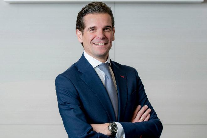 Christian Boutin, director general de Amadeus España y Portugal.