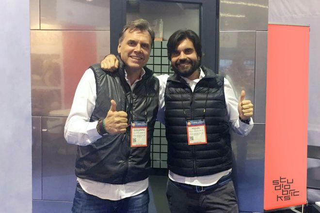 Guillermo Jungbauer y Miguel Donoso-Cortés, socios de Studiobricks.
