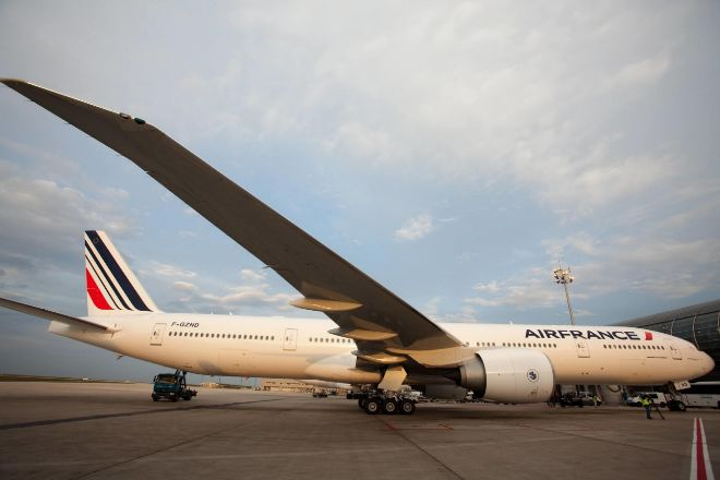 Avión de AirFrance Boeing 777