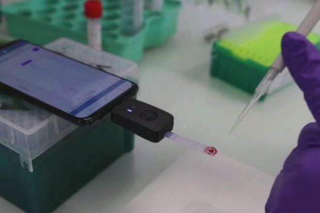 Un test Covid-19 en el teléfono móvil, cada vez más cerca