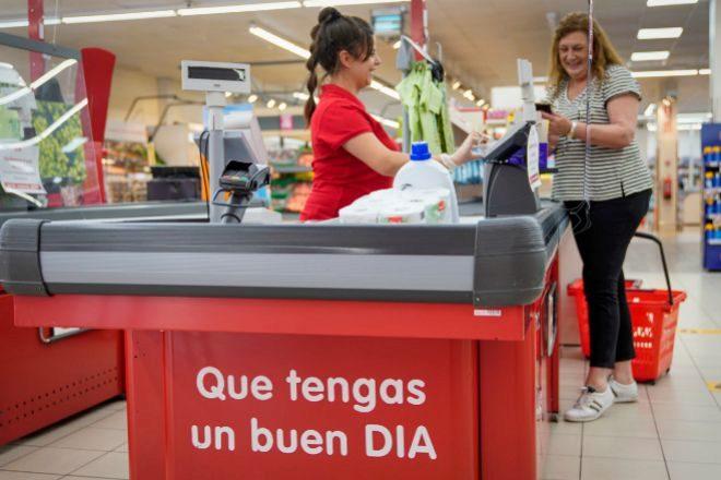 Supermercado del grupo Dia.