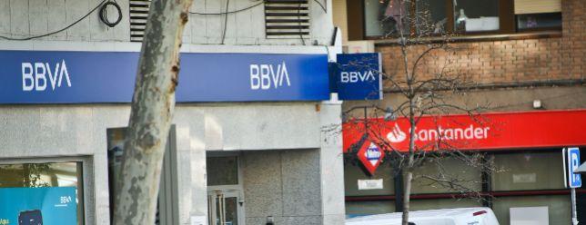 Jefferies augura rumbos opuestos en Bolsa en Santander y BBVA