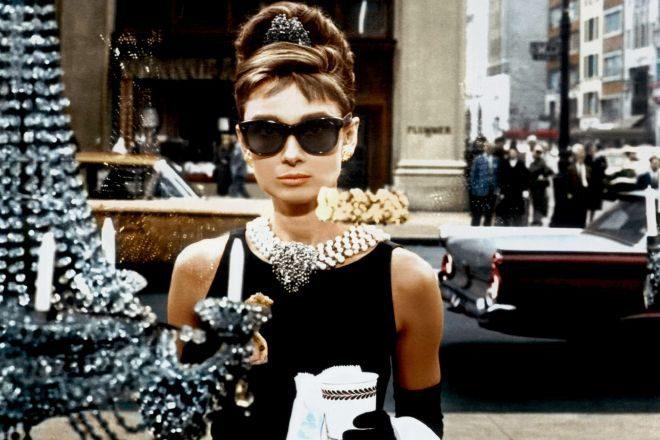 Audrey Hepburn en Desayuno con Diamantes. 1961