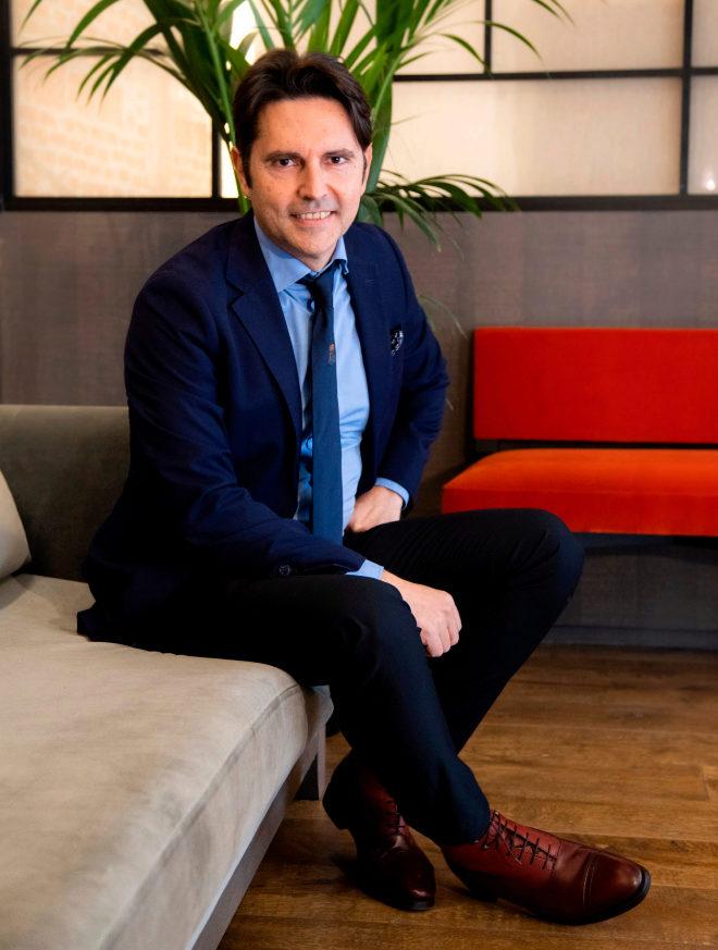 Eduardo Crisenti, socio director de las oficinas de Barnes en Madrid
