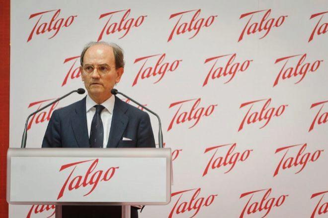 Carlos de Palacio y Oriol, presidente de Talgo.