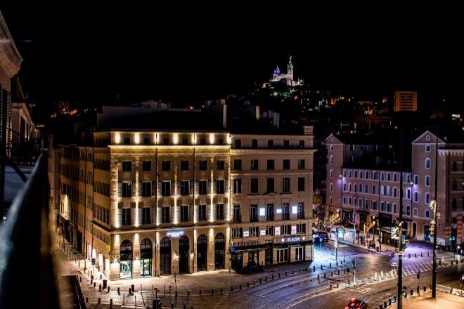 Exterior del nuevo hotel de Marsella.