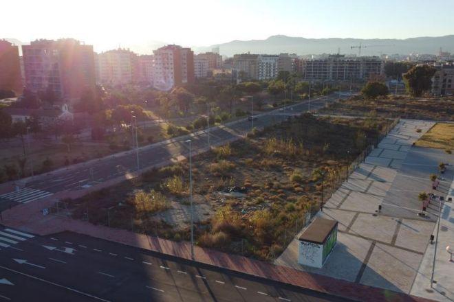 Terreno adquirido por el grupo Lar en Murcia.