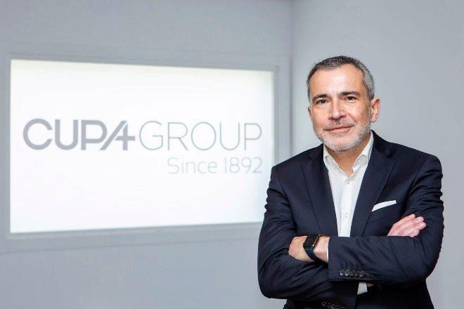 Javier Fernández, consejero delegado de Cupa Group.