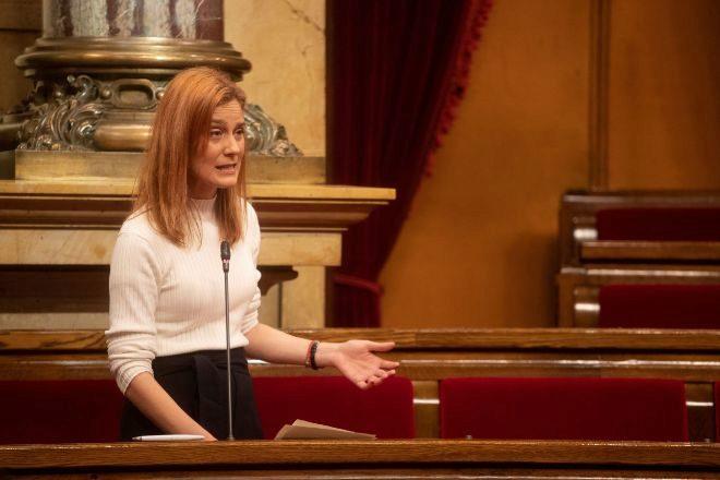 La líder de En Comú Podem Jéssica Albiach.