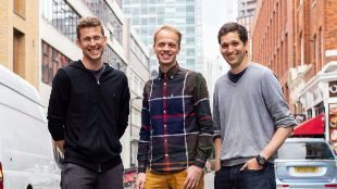 Mart Abramov, Daniel Karger y Kaupo Korv, fundadores de TaxScouts.