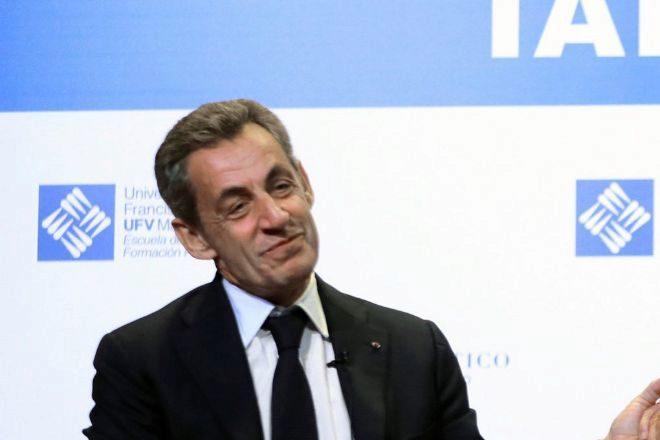 El expresidente francés Nicolás Sarkozy.