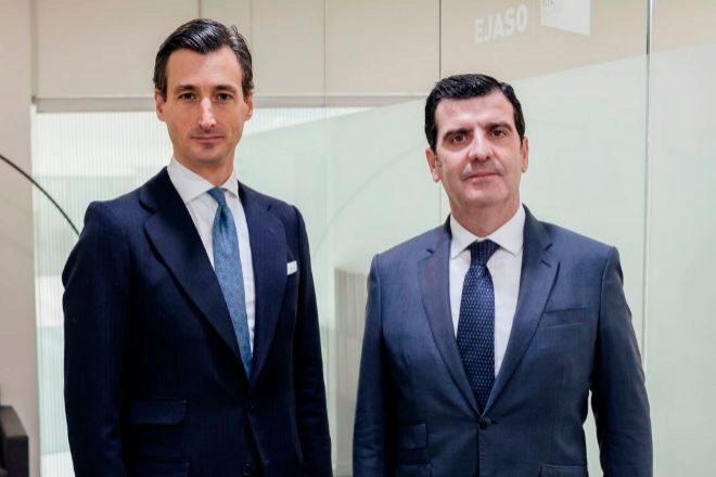 Los socios de Ejaso ETL Global Javier Romero (director) y Carlos Palma.