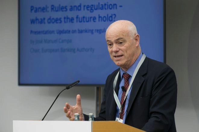 José Manuel Campa, presidente de la Autoridad Bancaria Europea.