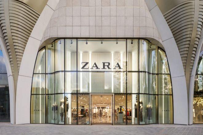 Tienda de Zara, la principal marca de Inditex.