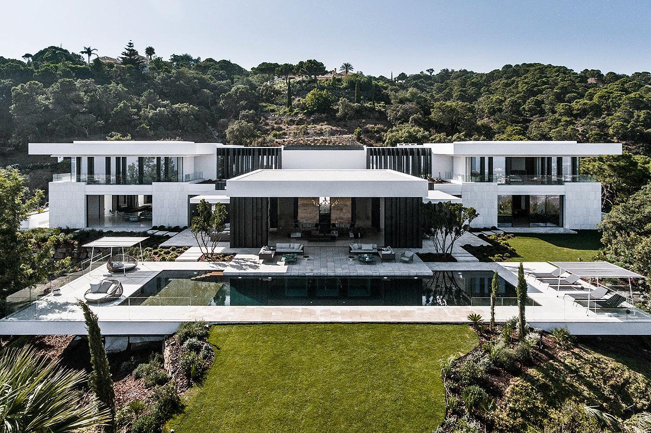 La propiedad se llama Villa Cullinan y está ubicada dentro de un...