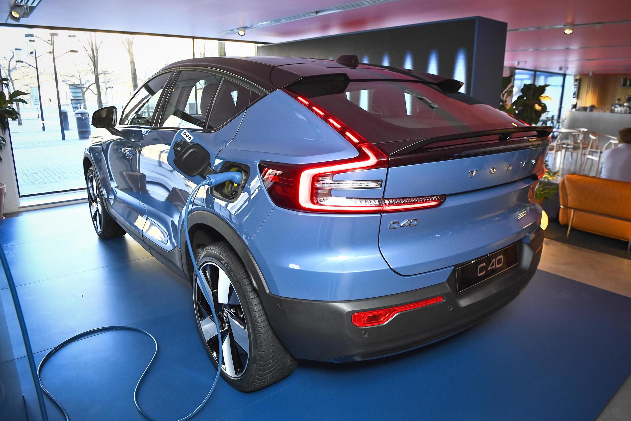 Volvo C40, el nuevo SUV eléctrico de la marca sueca.