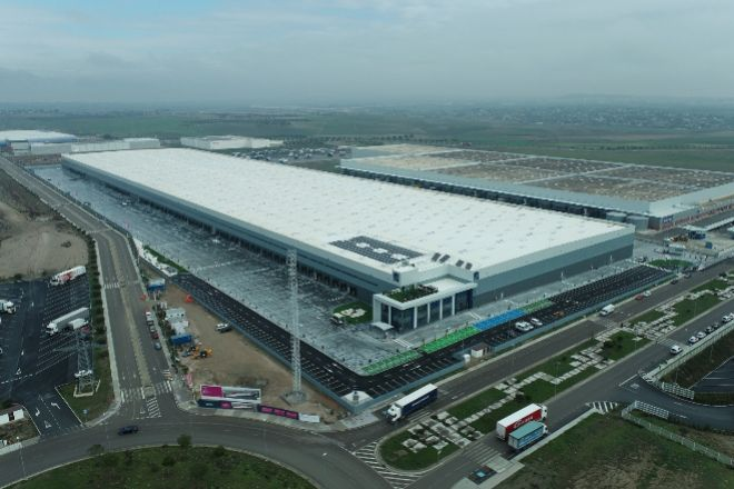 Mountpark ha destinado unos 70 millones de euros a la construcción del centro logístico.