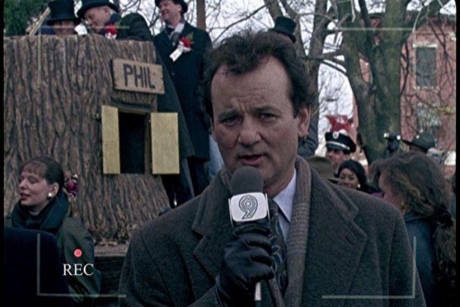 Algunos teletrabajadors se sienten sumergidos en la película <em>'Atrapado en el tiempo'</em> (1993), como el periodista Phil Connors, interpretado por Bill Murray, condenado a cubrir la información del festival del día de la marmota una y otra vez.