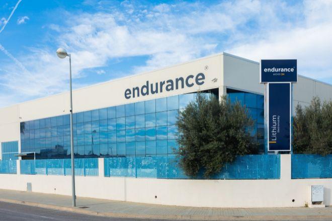 Instalaciones de Endurance.