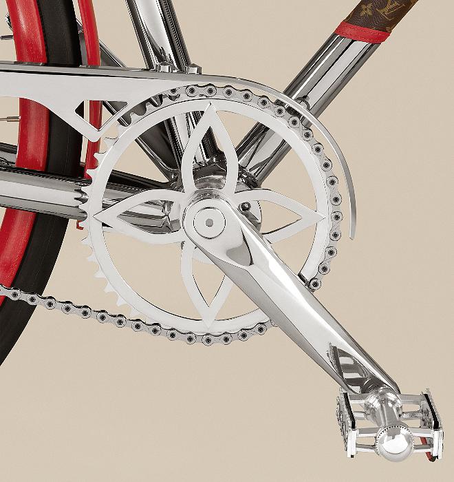 Detalle del pedal.