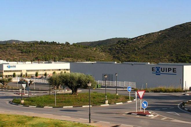 Planta de Equipe Cerámica en Castellón.