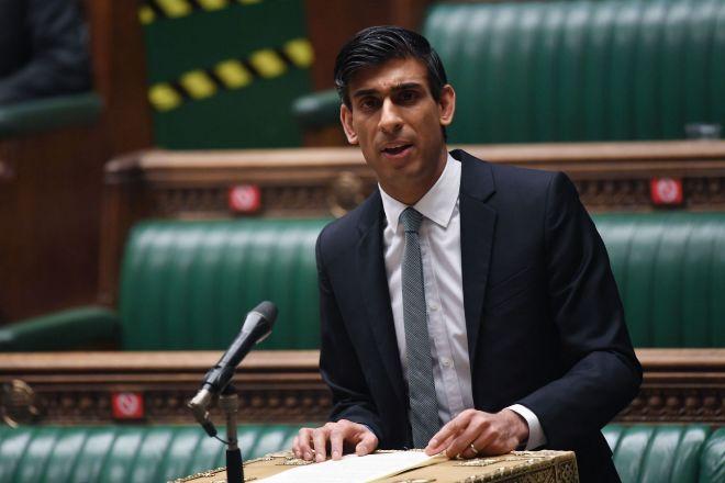 Rishi Sunak, ministro de Hacienda de Reino Unido.