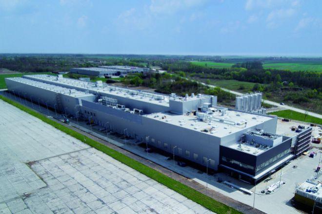 Fábrica de Poligal en Polonia.