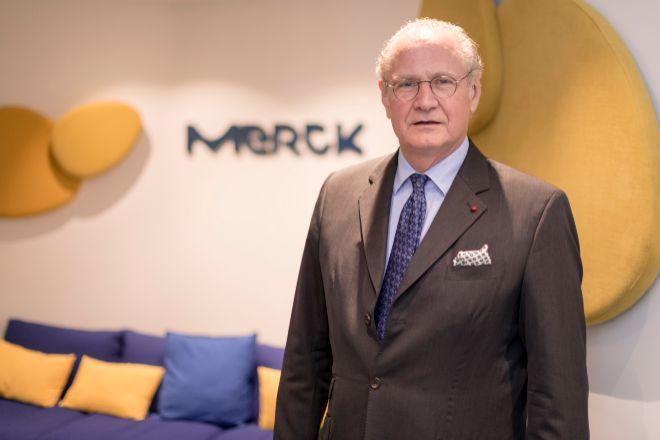 Stefan Oschmann, CEO de Merck.