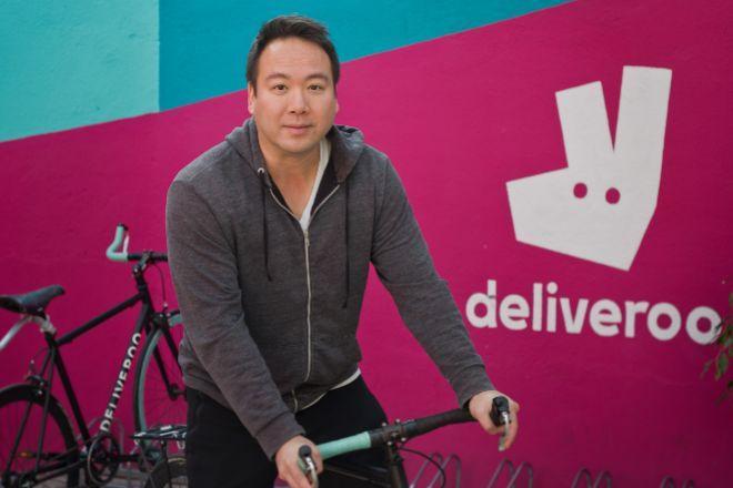 Consejero delegado y fundador de Deliveroo, Will Shu.
