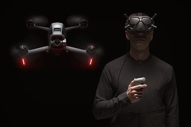 El dron alcanza una velocidad máxima de 140 Km/h.