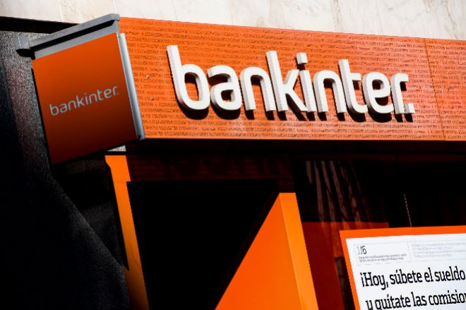 Sucursal de Bankinter en Madrid.