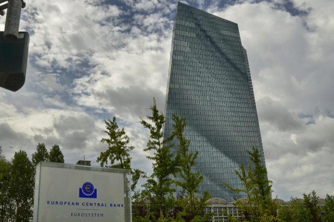 Sede del Banco Central Europeo (BCE) en Fráncfort, Alemania.